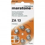 Button Battery Renata ZA 13 for hearing aids Zinc 310 mAh 1.4 V 18pcs ZA13X18