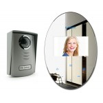 Videophone mirror effect with touch keys Avidsen 112268