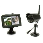 Surveillance Kit Avidsen color monitor with 2 channels 4.3 inch 123502