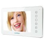 Avidsen video monitor with 7 inch LCD ringtones Avidsen 122398 White
