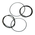 Drive belt for electronic equipment H 1.2 mm diameter from 25 to 130 mm 1pz