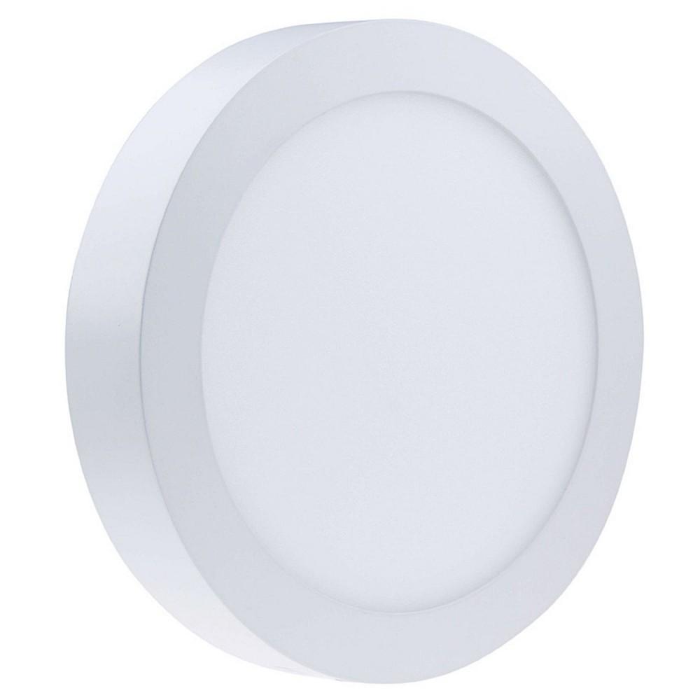 Faro faretto pannello led luce bianca naturale 25w tondo for Luce bianca led