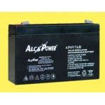 Battery Rechargeable battery 6V 7Ah Hermetic - (mm) 34x151x98 (h) 204012