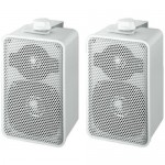 Pair of universal loudspeakers 2-way Monacor MKS-42-WS