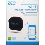Wifi switch that can be controlled by a smartphone REC ANKUOO COMPATIBLE ALEXA AMAZON