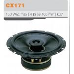 coaxial loudspeaker cabinet two-way 150 watts into 4 ohms max diameter 165 mm CIARE CZ171