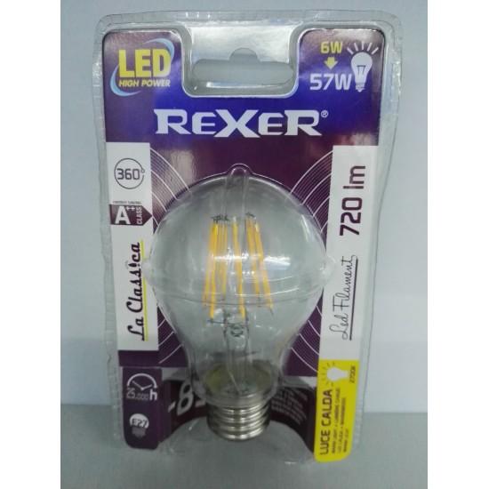 Ampoule F Bianco lli Filament Classique Chaud 6w E27 Led Blanc Microelettronica Dei Snc Di 230v 80OnkwPX