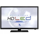 TV 24 'LED HD Trevi LTV 2401 SAT with HEVC and Satellite DVB-S2 White