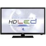"""TV 24"""" Led HD Trevi LTV 2401 SAT con HEVC e Satellitare DVB-S2 Bianco"""