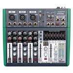 Mixer compatto 5 canali dsp - Monacor ZZMXE5
