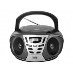 Stereo Portable Trevi CMP 558 BT with CD, Radio, USB, Aux-In and Bluetooth BLACK - Trevi CMP558N