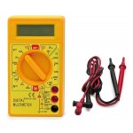 Handheld Digital Multimeter 6 Measurement Functions - Avidsen 107104