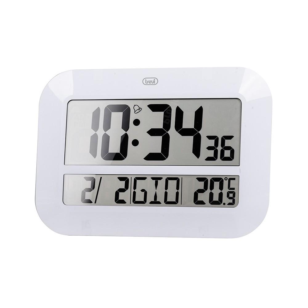 Orologio digitale da parete radiocontrollato trevi om 3540 for Orologio digitale da parete ikea