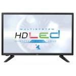 20 'LED TV with HD DVB-T2 receiver - Trevi LTV 2001 SAT BLACK