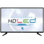 TV 32 'LED HEVC SATELLITE DVB-S2 TREVI LTV 3205 SAT BLACK