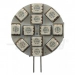 Lampadina a Led G4 - 2,2W - 12Vac/dc - Blu - AlphaElettronica JO506B