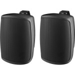 PAIR OF 2-WAY ACOUSTIC CASES 30W IP65 black - MONACOR WALL-04/SW