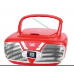 PORTABLE STEREO MP3 CD TREVI CMP 562 USB RED