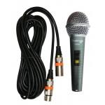Microfono dinamico PRO - c/cavo bilanciato XLR/XLR 5 mt - AUDIODESIGN PRO PAM30