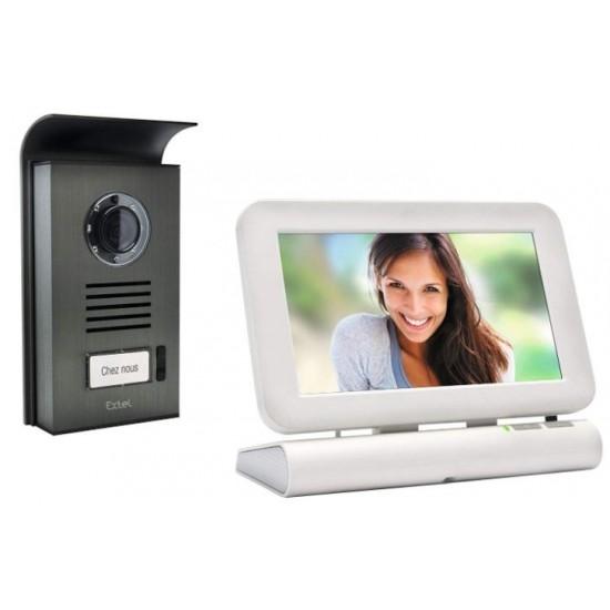 LESLI COLOR VIDEO DOOR PHONE, WIRELESS - EXTEL 720278