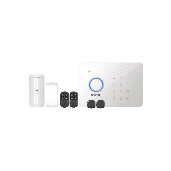 WIRELESS ANTI-THEFT KIT WITH GSM TELEPHONE DIALER, CUSTOMIZABLE VOICE MESSAGE, TELESOCCOSTO, IPHONE / ANDROID APP, INTEG