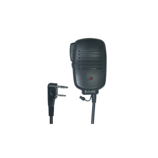 POLMAR MF-11PLUS MICROPHONE-SPEAKER WITH PPT (KENWOOD TYPE CONNECTOR)