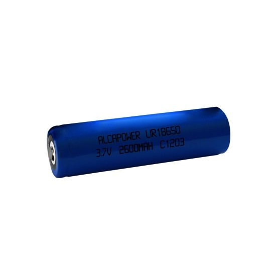 18650 Li-Ion battery 3.7V 2600mAh - Alcapower 202930