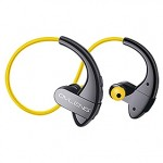 Sports yellow bluetooth earphones - KARMA S13Y