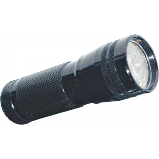 11 leds battery-powered torch - KARMA FL 811