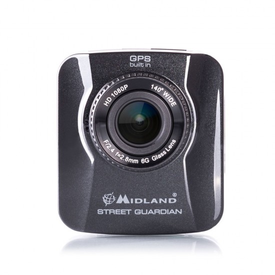 STREET GUARDIAN GPS for Full HD Car Camera with GPS MIDLAND C1174.01