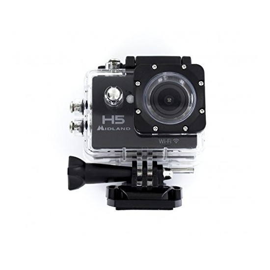 Midland H5 camera Full HD camcorder and integrated wifi C1208