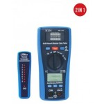 LAN AND MULTIMETER NETWORK TESTER WITH AUTOMATIC FLOW - K2M 50100930