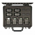 POLMAR Cube Multipack (Case containing 4 PMR446 Cube model and relative accessories) - POLMAR PM001030
