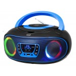 PORTABLE STEREO DAB CD MP3 USB AUX-IN TREVI CMP 583 DAB BLUE