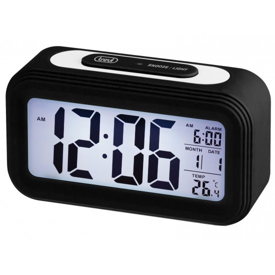 DIGITAL THERMOMETER WATCH WITH ALARM TREVI SLD 3068 S BLACK