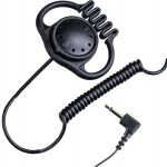 MONO HEADSET WITH 3.5 MM CONNECTOR, FLEXIBLE AND SOFT STRAP - ALBRECHT OH-2 - 71450