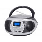 BOOMBOX ESTÉREO PORTÁTIL CD BLUETOOTH MP3 USB SD CMP 548 BT NEGRO - TREVI CMP548NERO