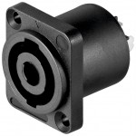 Speakon 4-pole panel socket for speakers - GOODBAY 50837