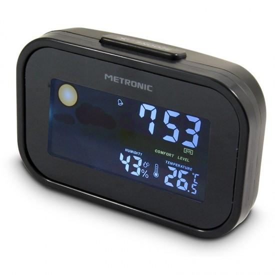 Travel alarm clock - METRONIC 477032