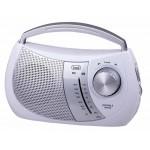 PORTABLE RADIO 2 BANDS TREVI RA 764 WHITE