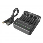 ALCAPOWER USB charger for Ni-Cd and Ni-MH AA and AAA batteries 700009