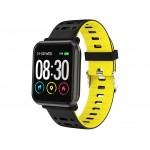 PULSERA CARDIO SMART BAND PARA IOS Y ANDROID TREVI T-FIT 210 HB AMARILLO