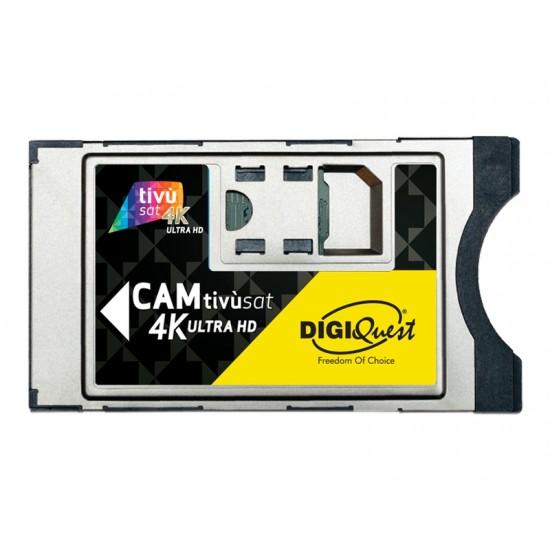 CAM 4K TIVUSAT - 4K ULTRA HD - DIGIQUEST