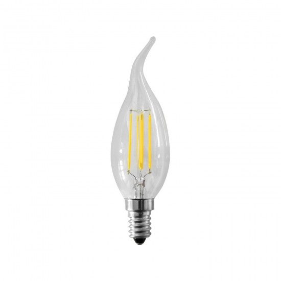 LED filament flame 230V 4W 450lm 4000K E14 930035