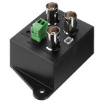 Distributor of video signal 1 input to 2 outputs Monacor TVDA-102