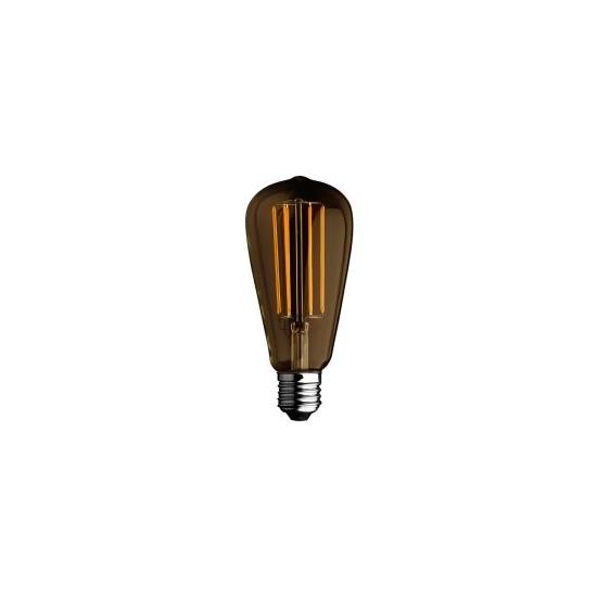 Lampada lampadina bulbo edison a filamento alcapower 4w for Lampadine al led luce calda