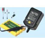 Cargador universal para los elementos paquetes Ni-Cd / Ni-MH cobra opción actual CB-300
